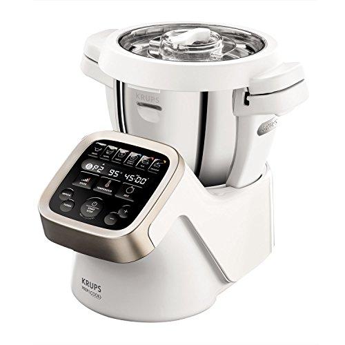 Krups Prep&Cook Multifunktions- Küchenmaschine HP5031   1550 Watt   bis zu 12.000 U/min   mit Kochfunktion  ...