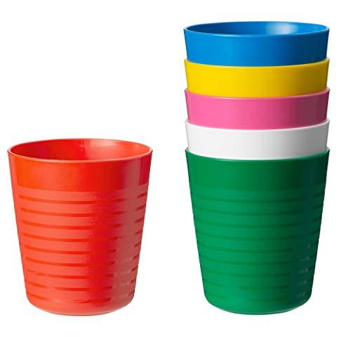 Ikea Kalas 804.213.32 Besteck-Set, BPA-frei, mehrfarbig, 6-teilig