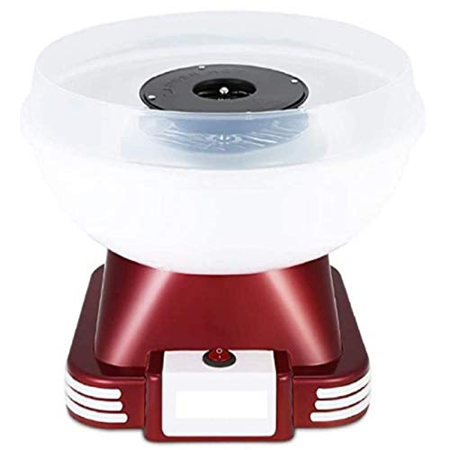 Queiting Zuckerwattemaschine für Zucker oder Harte Süßigkeiten Leicht zu Reinigen Popcorngerät Fettfrei...