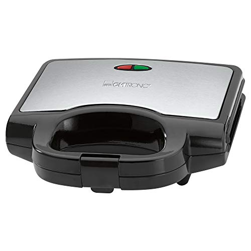 Clatronic ST 3628 Sandwichtoaster, dreieckige Sandwichplatten mit Antihaftbeschichtung, automatischer...