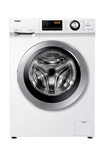 Haier HW80-BP14636N Waschmaschine / 8 kg / 1400 UpM / Inverter Motor / Dampf-Funktion / Vollwasserschutz / ABT...