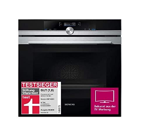 Siemens HB674GBS1 iQ700 Einbau-Elektro-Backofen / Edelstahl / A+ / activeClean Selbstreinigungs-Automatik /...