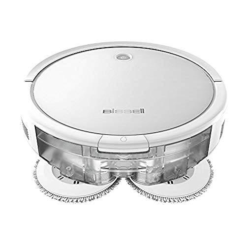 BISSELL SpinWave Roboter | 2-in-1 | Saugt oder Wischt | 2931N