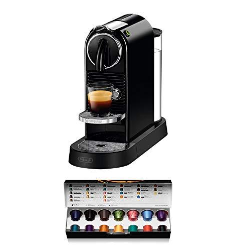 De'Longhi Nespresso Citiz EN167.B Kapselmaschine, Hochdruckpumpe und ideale Wärmeregelung ohne Aeroccino...