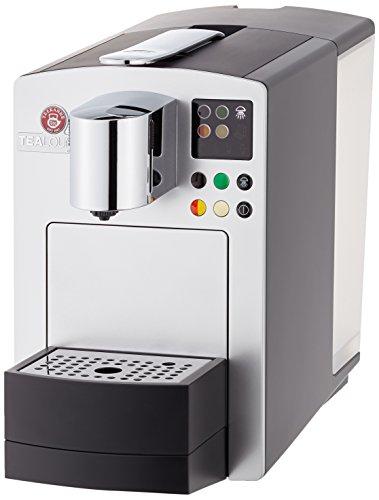 TEEKANNE TEALOUNGE System 7171 Professional Edition Teemaschine, Brilliant silber