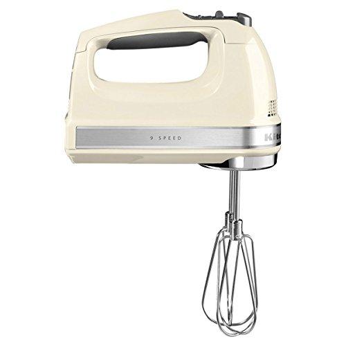 KitchenAid 5KHM9212EAC Handrührgerät, Edelstahl, Kunststoff, crème