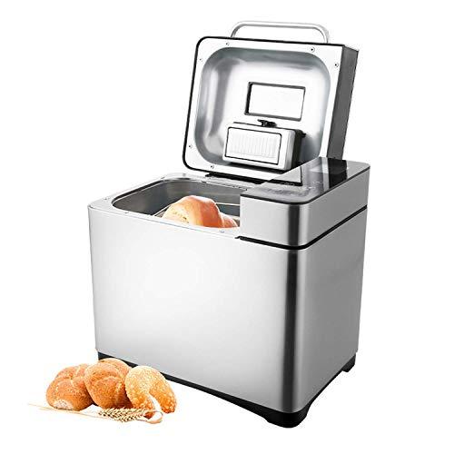 COOCHEER Brotbackautomat 19 Backprogramme,3 verschiedene Bräunungsgrade,Timing-Funktion,500-1000g...