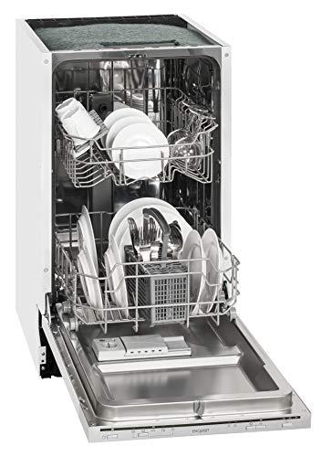 Exquisit Einbau-Geschirrspüler EGSP 1009 E   Vollintegriert, Einbaugerät   9 Maßgedecke   Weiß