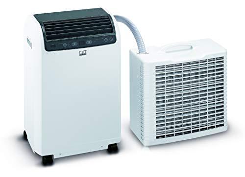 REMKO Lokales Raumklimagerät RKL 495 DC, weiß (Split-Ausführung, Klimagerät für ca. 120m³, Kühlleistung...