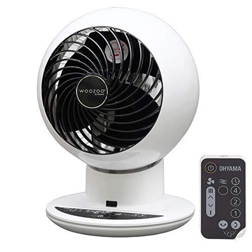 Iris Ohyama White IRIS, leiser Turbo-Ventilator 'Woozoo by Ohyama', PCF-SC15T, Weiss, 38 W, 30 m², Reichweite...