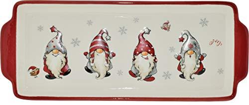CREOFANT Servierplatte Wichtel Design · Servierplatte Dolomit · Servierplatte Weihnachten · Weihnachten...