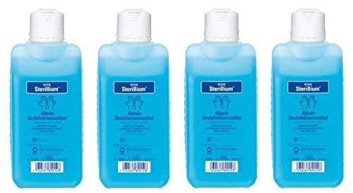 Sterillium Hände-Desinfektionsmittel   4 x 500 ml Flasche