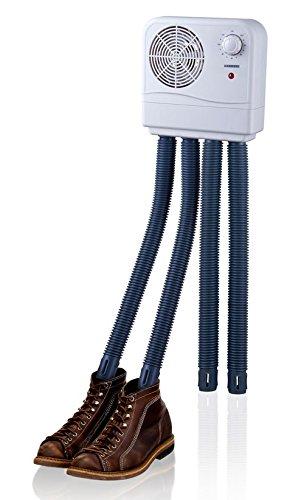 MELISSA Schuhtrockner 16540010 Schuhwärmer Schuh-Heizung für 2 Paar Schuhe