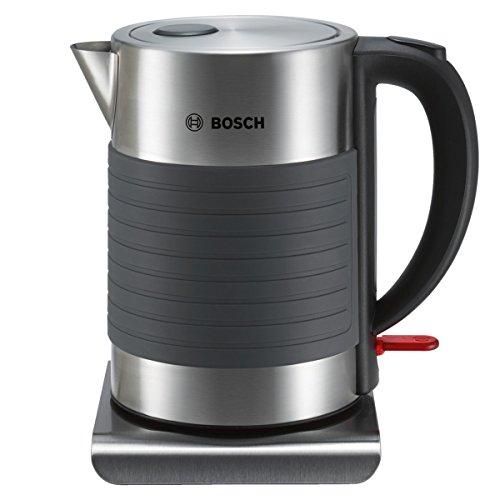Bosch TWK7S05 kabelloser Wasserkocher, Abschaltautomatik, Überhitzungsschutz, Dampfstopp-Automatik, einfache...