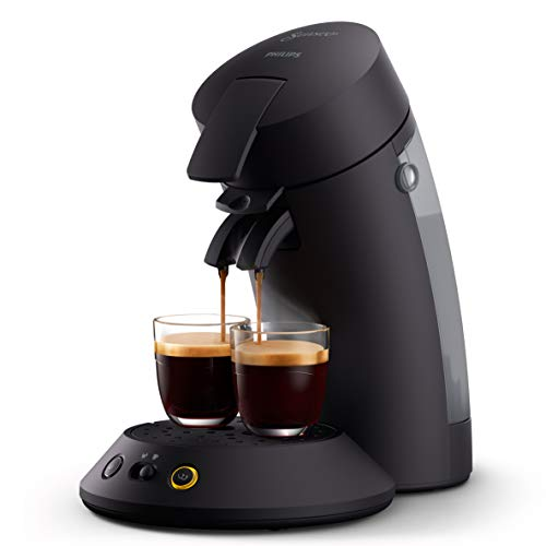 Philips Senseo Original Plus CSA210/60 Kaffeepadmaschine (Kaffeestärkewahl, Kaffee Boost Technologie, aus...