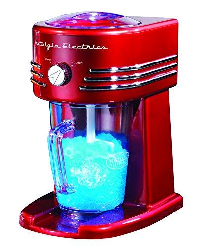 Nostalgia Slush Maker Eismaschine, Rot