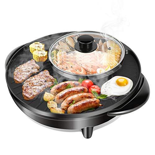 EBTOOLS Kochtopf, elektrische Pfanne EU 220V zum Kochen für die Küche