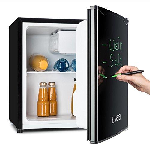 Klarstein Spitzbergen - Kühlschrank, Standkühlschrank, beschreibbare Tür mit Marker, 5-stufiger...