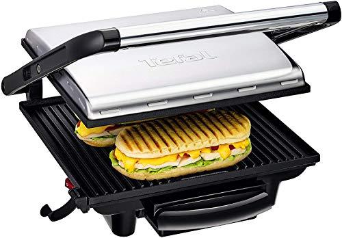 Tefal Kontaktgrill Inicio GC241D [Elektrogrill / Sandwichtoaster für Panini, Toasts, Steak, Sandwich und...