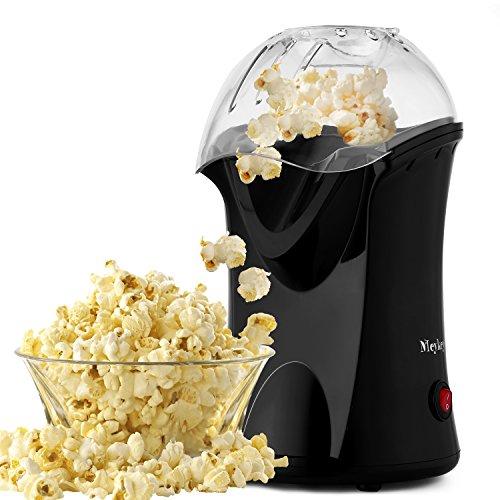 MEYKEY Popcorn Maschine, 1200 W Popcorn Maker für Zuhause, Schnellste 2 Minuten, 98% Poping-Rate, kleiner...
