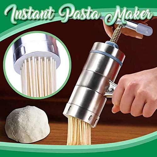 Edelstahl Handbuch Noodles Presse Maschine Nudelmaschine, Multi Küche Manuell Nudel Maker...