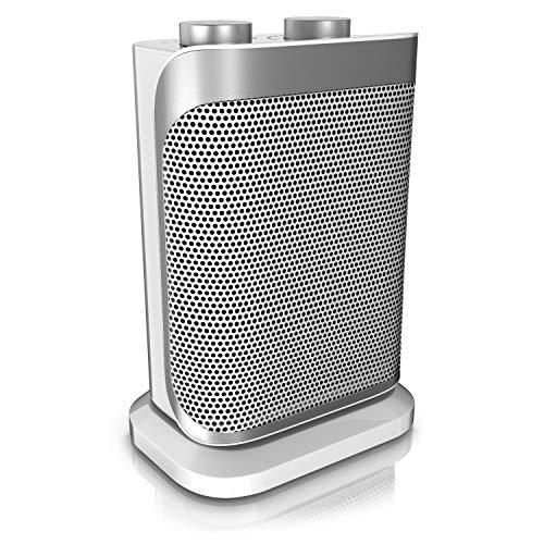 Brandson - Heizlüfter mit Zwei Leistungsstufen - Heizlüfter Badezimmer energiesparend leise - stufenlose...