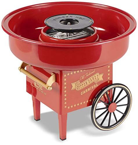 mikamax - Zuckerwattemaschine - Rot - Cotton Candy Machine – Süßigkeiten