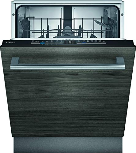 Siemens SN61IX12TE iQ100 Vollintegrierter Geschirrspüler / E / 92 kWh / 12 MGD / Smart Home kompatibel via...