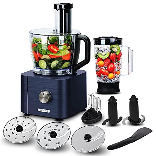 TopStrong Küchenmaschine,Küchenmaschine multifunktional,Multifunktions-Küchenmaschine 1100W mit 3,2L...