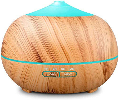 Tenswall 400 ml Luftbefeuchter Ultraschall Diffuser Aromatherapie Luftbefeuchter Ätherische Öle...