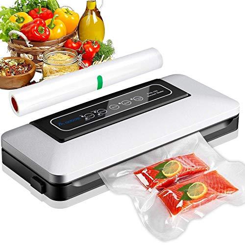 Aobosi Vakuumierer-Vakuumiergerät 5 In 1 automatische Lebensmittel Versiegelung für Trockene und Feuchte...