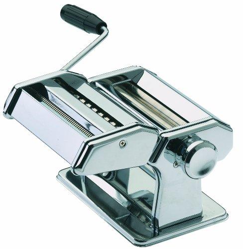 GEFU 28300 Nudelmaschine Pasta PERFETTA DE Luxe mit 3 verschiedenen Aufsätzen - Maschine für die Zubereitung...