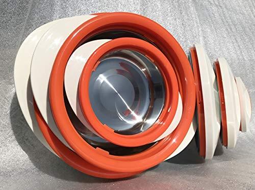 Schulz-Haushaltwaren 3 TLG Set Thermobehälter Thermoschüssel Thermoschüsseln Isolierschüssel...