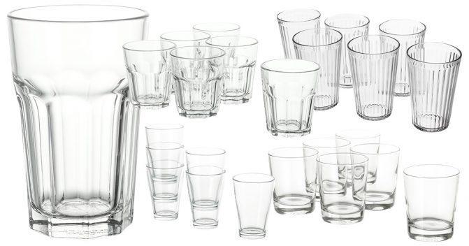 IKEA-Gläser für Familien
